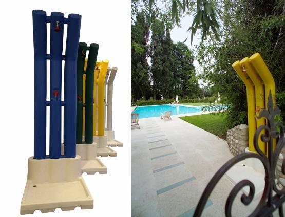 Impec piscine e sali doccie piscine impec piscine e sali - Doccia solare per piscina ...