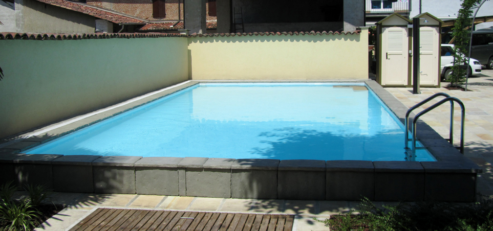 Impec piscine e sali piscine semi interrate impec for Piscine seminterrate